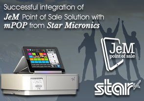 JeM Certifies Star mPOP providing an elegant printing solution