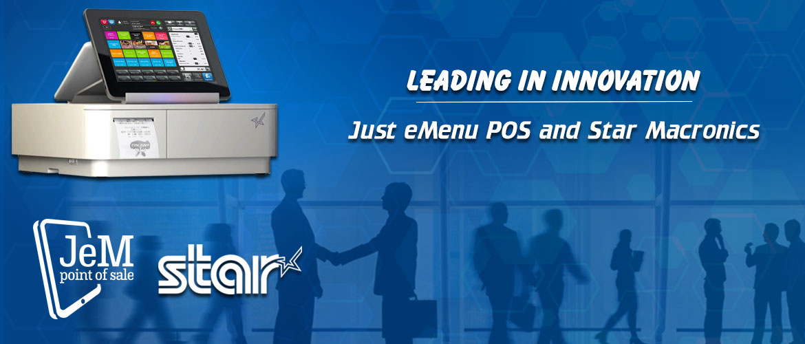 BOS Partners with Star Micronics for a better customer experience with our JeM POS