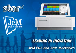 JeM Partners with Star Micronics