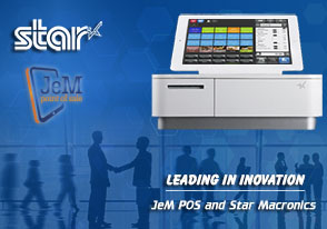 Just eMenu Partners with Star Micronics